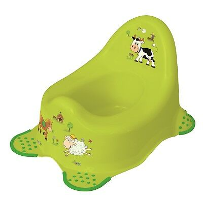 Keeeper Funny Farm Babytopf mit Anti-rutsch-Funktion green meadow