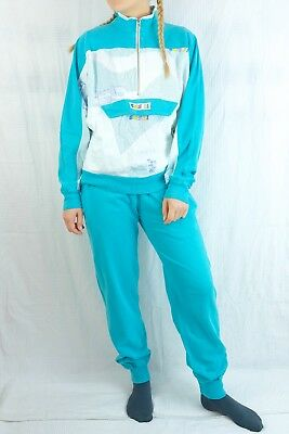 90er Jahre Vintage Trainingsanzug Track Suit No Retro Party Bad Taste S 80s 90s