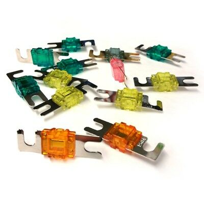 4x MINI-ANL FUSE CAR AUDIO 100 AMP 100AMP.  FUSES 100A CHEAP