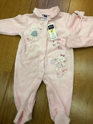 M&Co baby outfit - brand new - baby gro and hat -  age 0-3 months