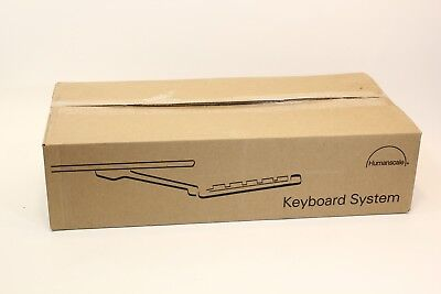 """Humanscale 4G 4G90090G22 900 Series Keyboard Tray w/8.5"""" Clip Mouse Platform"""