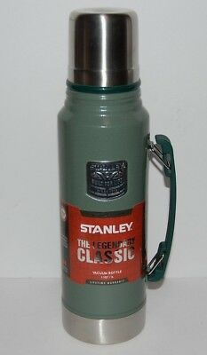 NEW - Stanley 1.1 Qt Stainless Vacuum Thermos Bottle - Green - FAST SHIPPING