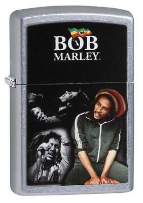 "Zippo ""Bob Marley"" Street Chrome Finish Lighter, Full Size, 29572"
