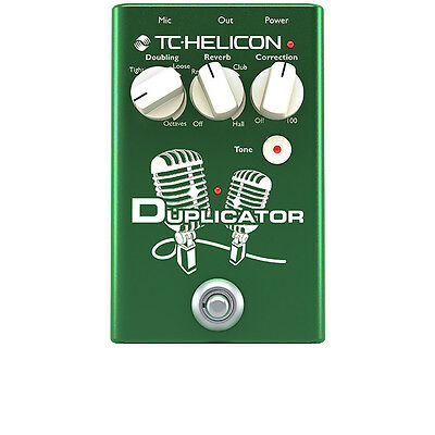 TC Helicon Duplicator Vocal Effects Pedal + Picks