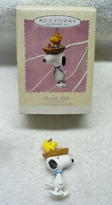 Hallmark Easter Collection Ornament (1996) Peanuts Parade Pals-QEO8151