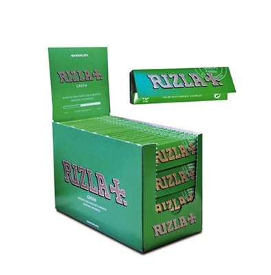 RIZLA Green Original Cigarette Rolling Papers Regular Size Rolling Paper