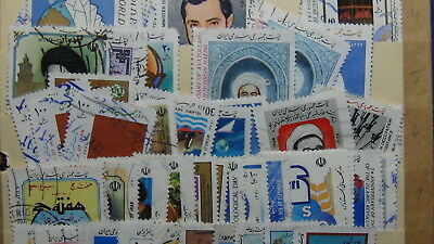 Mid. East stamp collection on stock pages in 3 ring small binder