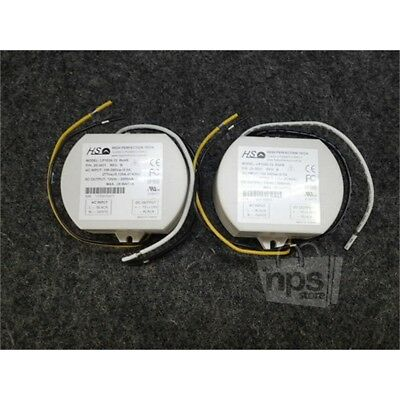 Lot of 2 High Perfection Tech LP1025-12 LED Driver Power Supply, 12VDC, 25W