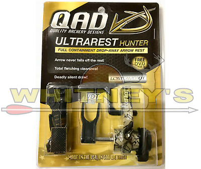 QAD Archery Ultra Rest Hunter Drop Away - Right Hand - Lost OT Brown Camo