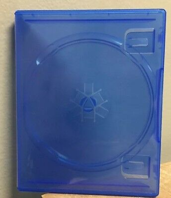 Sony PlayStation 4 PS4, Blu-Ray DVD Movie Empty Replacement Case - BRAND NEW!