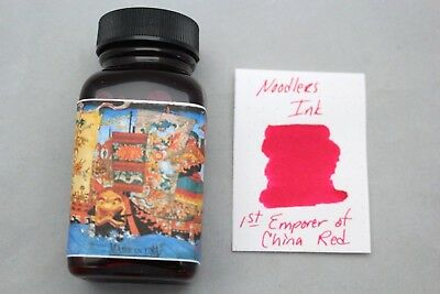 Noodlers Ink 3 Oz Bottle First Emperor Of China Red