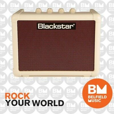 Blackstar FLY 3 Mini Guitar Amp Battery Powered Vintage Limited Edition
