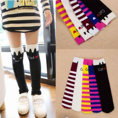 Bowknot School High Knee Socks Baby Leg Warmer Tights Stockings