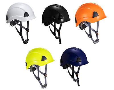Portwest Height Endurance Work Climbing Scaffolding Hard Hat Safety Helmet PS53