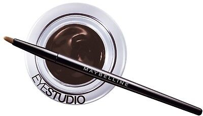 Maybelline Lasting Drama Gel Eyeliner with Professional Brush - Brown