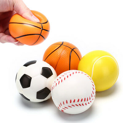 hand football exercise soft elastic squeeze stress reliever ball massage toys WL