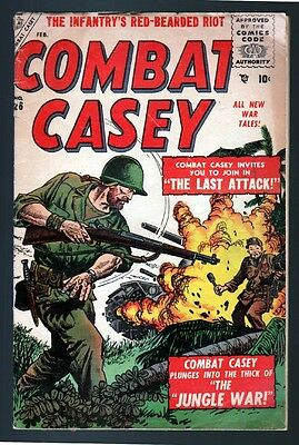 Combat Casey 26 3.5 Vg- 1956 Marvel Atlas John Severin War