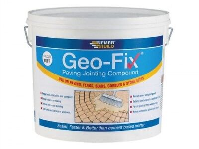 Everbuild Geo-Fix Paving Mortar Use on Paving Flags Slabs Cobbles 20Kg - Grey