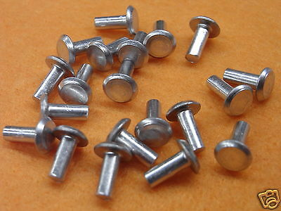 Rivet solid aluminium - Solid  Rivet 3/32 x 3/16 length - universal head