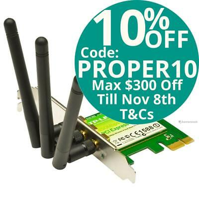 TP-Link TL-WDN4800 N900 Wireless Dual Band PCI-E Adapter