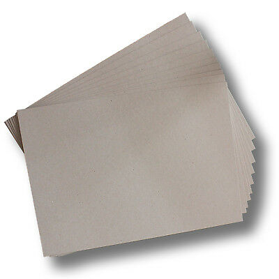 100 x BoxBoard Backing Card ChipBoard 600gsm 1mm A3 100% ReCycled #B1368