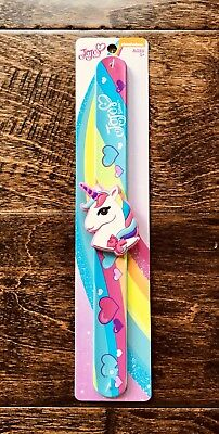 🦄💗JoJo SiWa UNiCoRN Slap Band Bracelet. Interchangeable Charms/Bands. NEW
