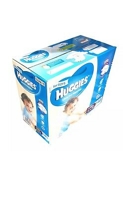 Huggies Ultra Dry 148 Toddler Boy Disposable Nappies  -  10-15 kg Jumbo Pack