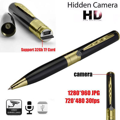 New USB HD DV Camera Pen Recorder Hidden Security DVR Cam Video 1280x960 WS