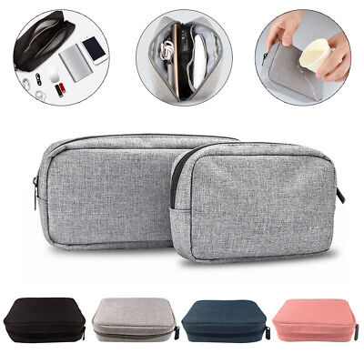 Portable Electronics Travel storage organizer USB Cable bag Case Digital Gadget