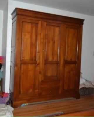 3 Door 2 Drawer French Armoire