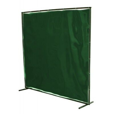 Portable Welding Screen 6 X 6 Low Vis (Green)