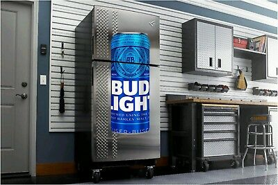 Bud Light Bud Beer fathead wall sticker 4' dorm room man cave refrigerator