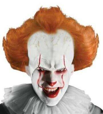 IT Movie Licensed Pennywise Wig and Red Makeup Stick