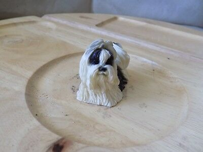 Collectible Lhasa Apso Dog Puppy Figurine