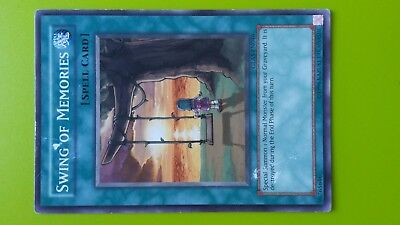 Swing of Memories Spell Card Yugioh Trading card Game Konami Used English