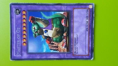 Master of Oz Earth Beast Fusion 1st Edition Yugioh Trading card Game Konami Used