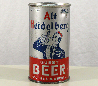 Alt Heidelberg Guest Clean Oi Flat Top Beer Can Columbia Brew Tacoma, Washington