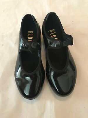 Bloch Techno Tap Shoes Black #5H Dance Youth Size 9 1/2