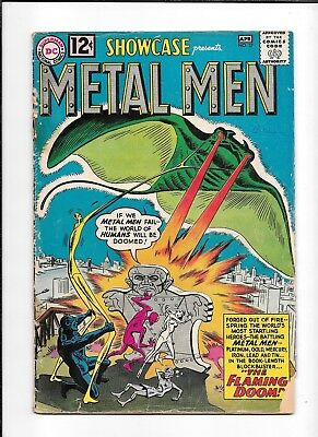 Showcase #37 ==> 1St Appearance Of The Metal Men Dc Comics 1962