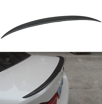 BMW F33 Convertible 4 Series M4 Performance Style Carbon Fiber Rear  Spoiler