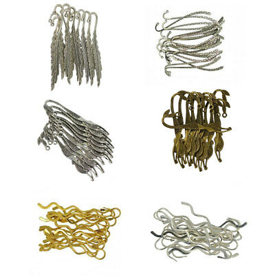 6/10/20pcs Wholesale Charms Assorted Antique Silver Alloy Bookmarks For Beading