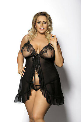 anais apparel Plus Size Damen Babydoll
