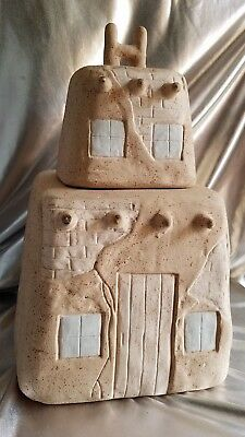 Adobe Pueblo Southwestern Style Cookie Jar. Desert Notions Apache Junction Az.