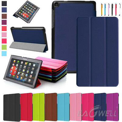 """Magnetic Leather Stand Cover Case For Lenovo Tab3 7 Essential TB3-710F 7"""" Tablet"""