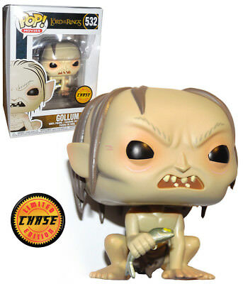 Funko POP! Movies Lord Of The Rings #532 Gollum - Chase Limited Edition - New