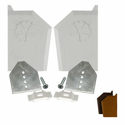 Ultraframe Starter End Cap Replacement Kit Slipped Polycarbonate or Glass Sheet
