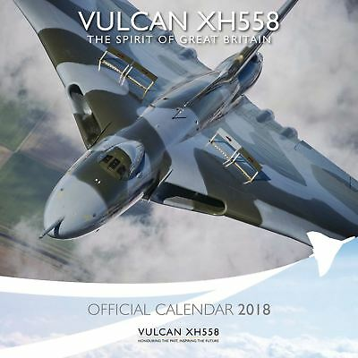 Vulcan To The Sky Official 2018 Square Wall Calendar 9781786664051
