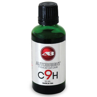 Ceramic Coating C9H Nano Sealant Hydrophobic Smooth As Glass 50ml.  Autobright