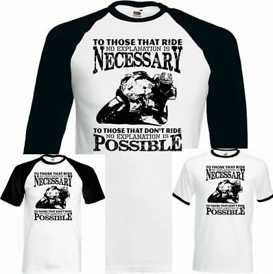 To Those Who Ride Mens Funny Biker T-Shirt Motorbike Motorcycle Indian Superbike