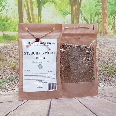 St. John's Wort Tea ( Hypericum perforatum ) - Health Embassy 100% Natural